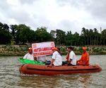 Fulhari (Odisha): NDRF water ambulance