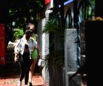: Mumbai: Neha and Aisha Sharma Spotted at Bandra