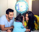 Free Photo: Neha Dhupia has an adorable wish as daughter Mehr turns one