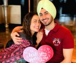 Neha Kakkar shares images of Rohanpreet's marriage proposal