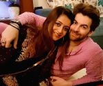 Neil Nitin Mukesh's perky cuppa for wife Rukmini