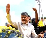 Naidu, TDP MLAs detained in Amaravati