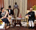 Nepal President calls on President Mukherjee