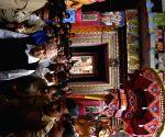 Nepalese King visits Lingaraja Temple