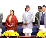 NEPAL KATHMANDU FORMER PRESIDENT FAREWELL
