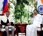Nepalese PM meets Venkaiah Naidu