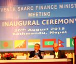 NEPAL-KATHMANDU-SAARC FINANCE MEETING