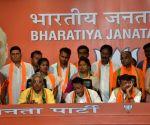 TMC MLA, 12 councillors join BJP