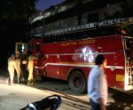 DCW operating from parking lot after fire