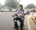 Haze blankets Delhi as air quality worsens to 'severe'