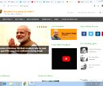 Delhi BJP website hacked, shows beef dishes