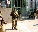 Security beefed up outside strong room