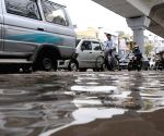 Waterlogged streets of New Delhi