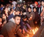 ABVP candlelight vigil to condemn the 2012 Nirbhaya