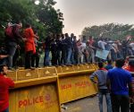 DUSU President, others detained during pro-JNU protest