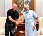 Anupam meets Modi, says his vision for India 'reassuring'