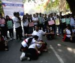 Street play at Jantar Mantar on World AIDS Day