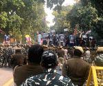 Dramatic scenes on Raisina, as Cong 'gherao' Parliament
