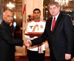 Envoys of six countries present credentials
