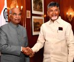 Andhra CM seeks President's intervention for 'justice'