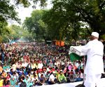 Anna Hazare, Medha Patkar demonstrate against land acquisition ordinance