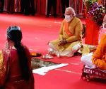 Modi makes 3 records with visit to Ram Janmabhoomi