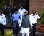 Nitish Kumar addresses press
