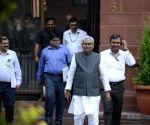 Nitish Kumar addresses press