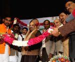 Amit Shah during a Dalit Sammelan