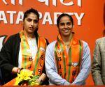 Is Saina Nehwal BJP's trump card for Telangana, Andhra?