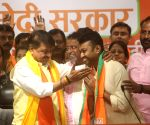 3 MLAs, over 50 councillors from Bengal join BJP