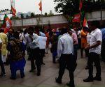 Celebrations at BJP headquarters