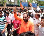 Tughlakabad residents' demonstration  press for regular water supply