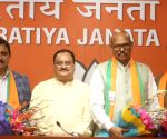 Four TDP MPs join BJP