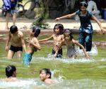 Hot day in Delhi