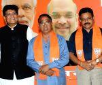 Two Congress legislators in Goa quit, join BJP