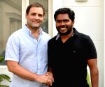Rahul meets director Ranjith, discusses politics and film
