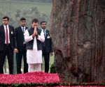 Leaders pay tributes to Indira Gandhi on birth anniversary