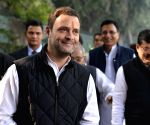 Rahul Gandhi files nomination from Amethi