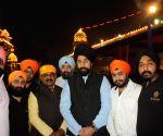 Delhi BJP chief visits Gurdwara Rakab Ganj Sahib on Guru Nanak Jayanti