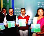 Delhi CM during a programme
