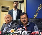 Kejriwal announces free septic tank cleaning scheme