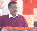 Arvind Kejriwal takes oath as Delhi CM