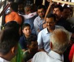 Kejriwal rides buses to know women's response to free travel