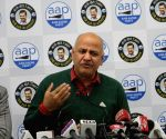 Shah must look to Shaheen Bagh's demand, not CCTVs: Sisodia