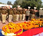 BS Bassi pays tribute to slain Delhi policemen