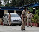 New Delhi : Delhi Police Maidan Garhi police station hand over Navneet Kalra to Delhi police Crime branch going SIT crime branch in New Delhi.