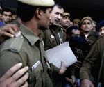 Delhi Police produces rape accused taxi driver in court