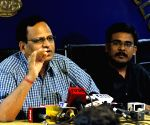 Satyendra Kumar Jain's press conference