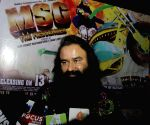 Ram Rahim Singh promotes his upcoming film 'MSG - The Messenger of God'